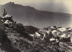 [General view of] Girnar Temples [Junagadh]